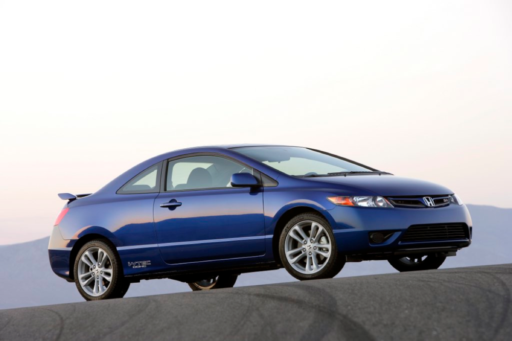 The redesigned 8th generation Honda Civic Si. My first love in a car.