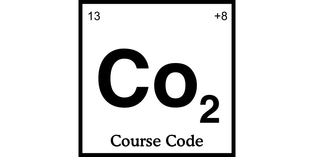 Course Code's second logo